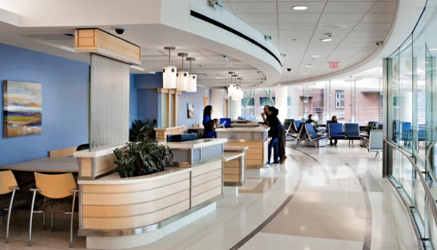 hospital interior design alshajura
